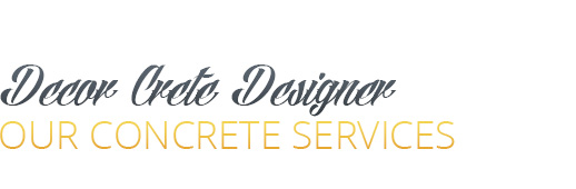 Decorative Concrete Designer